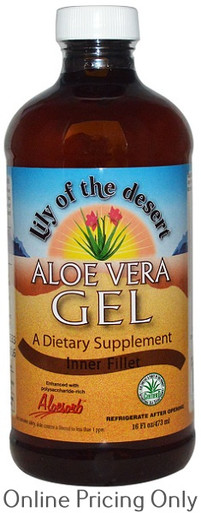 LILY OF THE DESERT ALOE VERA GEL INNERFILET 473ml