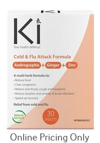 MARTIN AND PLEASANCE KI COLD AND FLU 30tabs