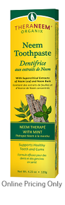 THERANEEM NEEM TOOTHPASTE WITH MINT 120g