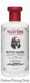 THAYERS ALCOHOL FREE LAVENDER WITCH HAZEL TONER 355ml
