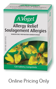 A VOGEL ALLERGY RELIEF POLLINOSAN 120tabs
