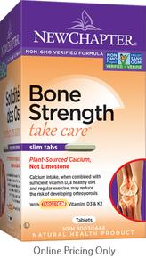 NEW CHAPTER BONE STRENGTH TAKE CARE 180tab