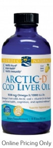 NORDIC NATURALS ARCTIC COD LIVER PLUS VITAMIN D 237ml