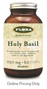 Flora Holy Basil 250mg 60vcaps