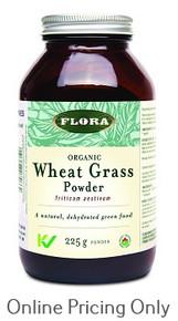 FLORA WHEAT GRASS POWDER 225g