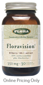 Flora Vision 350mg 30vcaps