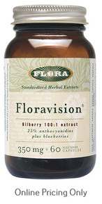 Flora Vision 350mg 60vcaps