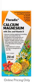 SALUS CALCIUM MAGNESIUM 250ml
