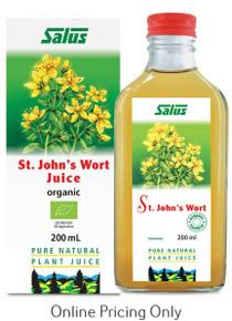 SALUS ST JOHN`S WORT JUICE 200ml