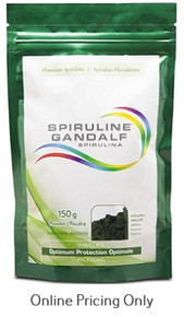 HAWAIIAN SPIRULINA GANDALF HAWAIIAN SPIRULINA POWDER 150g