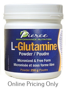 PRAIRIE NATURALS L-GLUTAMINE POWDER 250g
