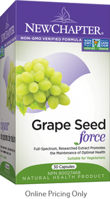 NEW CHAPTER GRAPE SEED FORCE 30vcaps