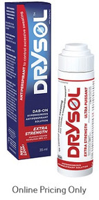 SEAFORD DRYSOL EXTRA STRONG 20% DAB-ON ANTIPERSPIRANT 35ml