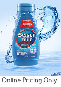 SELSUN BLUE ITCHY SCALP SHAMPOO 300ml