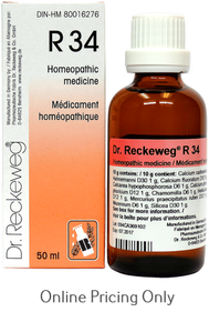DR RECKEWEG #34 50ml