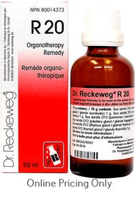 DR RECKEWEG #20 50ml