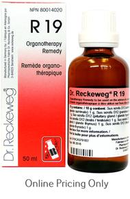 DR RECKEWEG #19 50ml