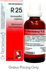 DR RECKEWEG #25 50ml