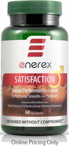 ENEREX SATISFACTION FOR MEN 60vcaps