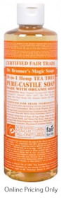 DR BRONNERS TEA TREE CASTILE SOAP 472ml