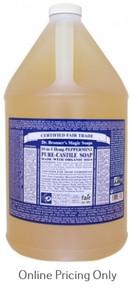 DR BRONNERS PEPPERMINT CASTILE SOAP 1G