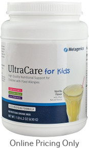 METAGENICS ULTRA CARE FOR KIDS VANILLA 630g