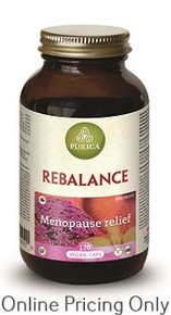 PURICA REBALANCE (MENOPAUSE RELIEF) 120vcaps