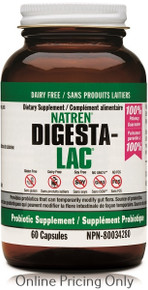NATREN DIGESTA-LAC DAIRY FREE 60caps