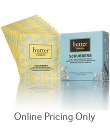 BUTTER LONDON SCRUBBERS 10 WIPES