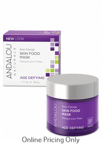 ANDALOU NATURALS SKIN FOOD MASK AVOCADO COCOA 50ml