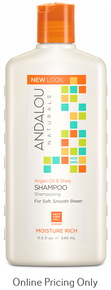 ANDALOU NATURALS SWEET ORANGE SHAMPOO 340ml