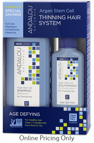 ANDALOU NATURALS AGE DEFYING HAIR TREATMENT SYSTEM