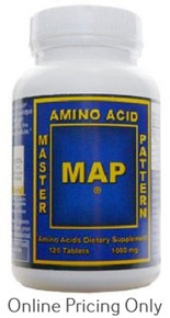 MASTER AMINO ACID PATTERN MAP 120tabs