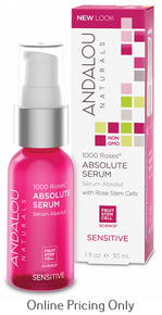 ANDALOU NATURALS 1000 ROSES ABSOLUTE SERUM 30ml