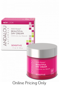 ANDALOU NATURALS 1000 ROSES BEAUTIFUL DAY CREAM 50ml