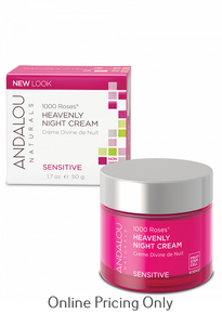 ANDALOU NATURALS 1000 ROSES HEAVENLY NIGHT CREAM 50ml