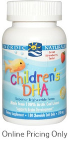NORDIC NATURALS CHILDRENS DHA STRAWBERRY 180sg