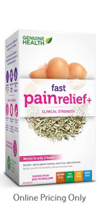 GENUINE HEALTH FAST PAIN RELIEF+ 180vcaps