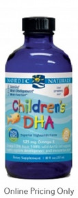 NORDIC NATURALS CHILDREN DHA STRAWBERRY 237ml