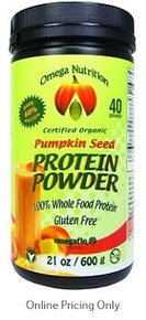 OMEGA NUTRITION PUMPKIN PROTEIN 600g