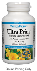 NATURAL FACTORS ULTRA PRIM EPO 1000mg 90sg