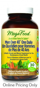 MEGAFOOD MEN OVER 40 ONE DAILY 30tabs