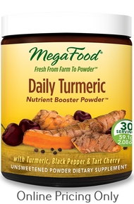 MEGAFOOD DAILY TUMERIC NUTRIENT BOOSTER 59.1g