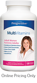 PROGRESSIVE MULTIVITAMINS WOMEN 120caps