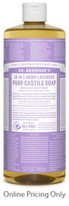 DR BRONNERS LAVENDER CASTILE SOAP 946ml