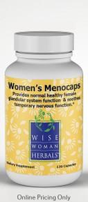 WISE WOMEN HERBALS WOMEN`S MENOCAPS 408mg 120caps
