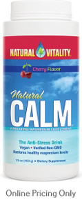 NATURAL CALM MAGNESIUM CITRATE CHERRY 454g