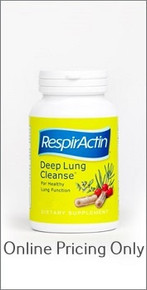 SUN FORCE RESPIRACTIN DEEP LUNG CLEANSE 60caps