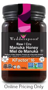Wedderspoon Manuka Honey K Facator 16 500g
