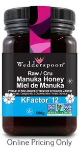 WEDDERSPOON MANUKA HONEY K FACTOR 12 500g